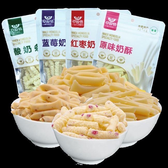 600g 草原情内蒙古奶条奶酪条零食奶制品酸奶条奶干奶豆腐奶酥奶棒