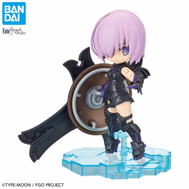Best-selling Bandai assembly model Q version FGO Fate / Grand Doudou soul Black Jeanne Revenge Witch