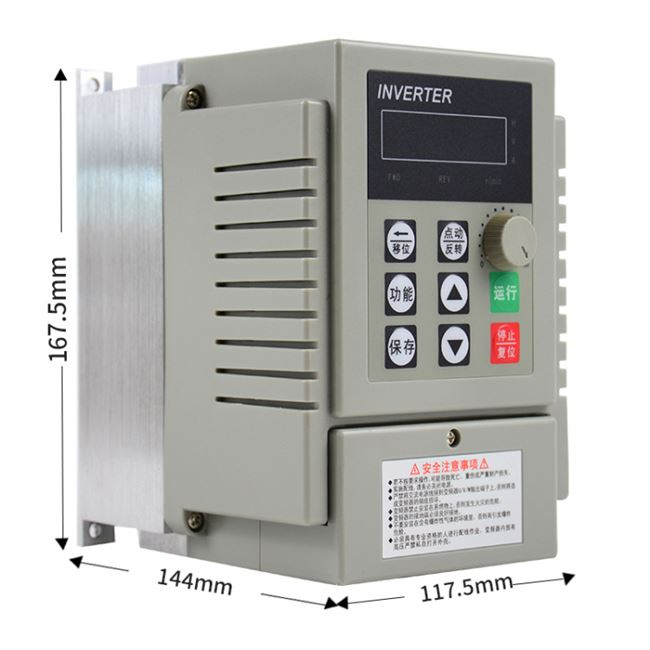 220V single-phase inverter drive speed 1.5KW0.75KW2.2KW simple inverter can drive common OEM