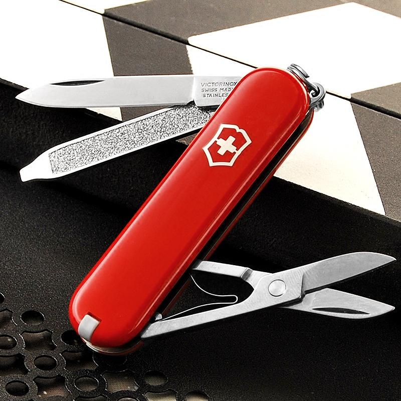 典范  迷你瑞士刃多功能折叠水果刃窄装正品 58MM 维氏瑞士军刃 0.6223