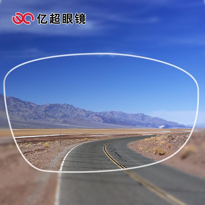 轻薄防辐射高度散光超薄非球面近视配镜片 8 1.60MR 亿超近视眼镜片