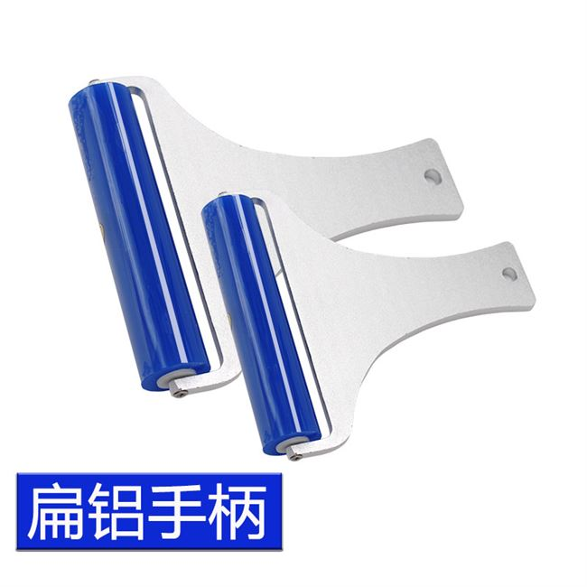 High-viscosity silicone sticky roller anti-static silicone dust removal roller industrial cleaning mobile phone oca fit