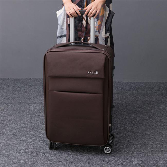 牛津布行李箱男女旅行箱万向轮学生拉杆箱包帆布 大容量 日本购