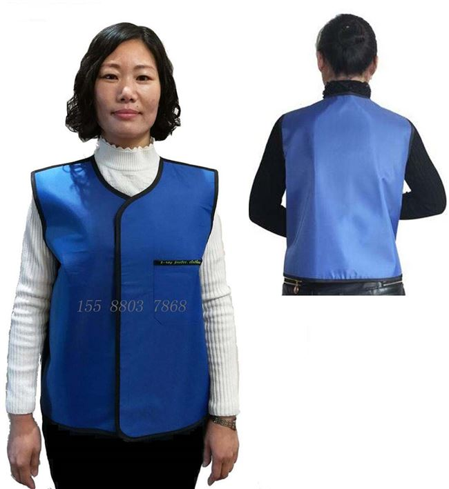 X-ray protective clothing double-sided lead vest radiation therapy lead clothing breast and abdomen radiation protection shirt manufacturers promotional shipping