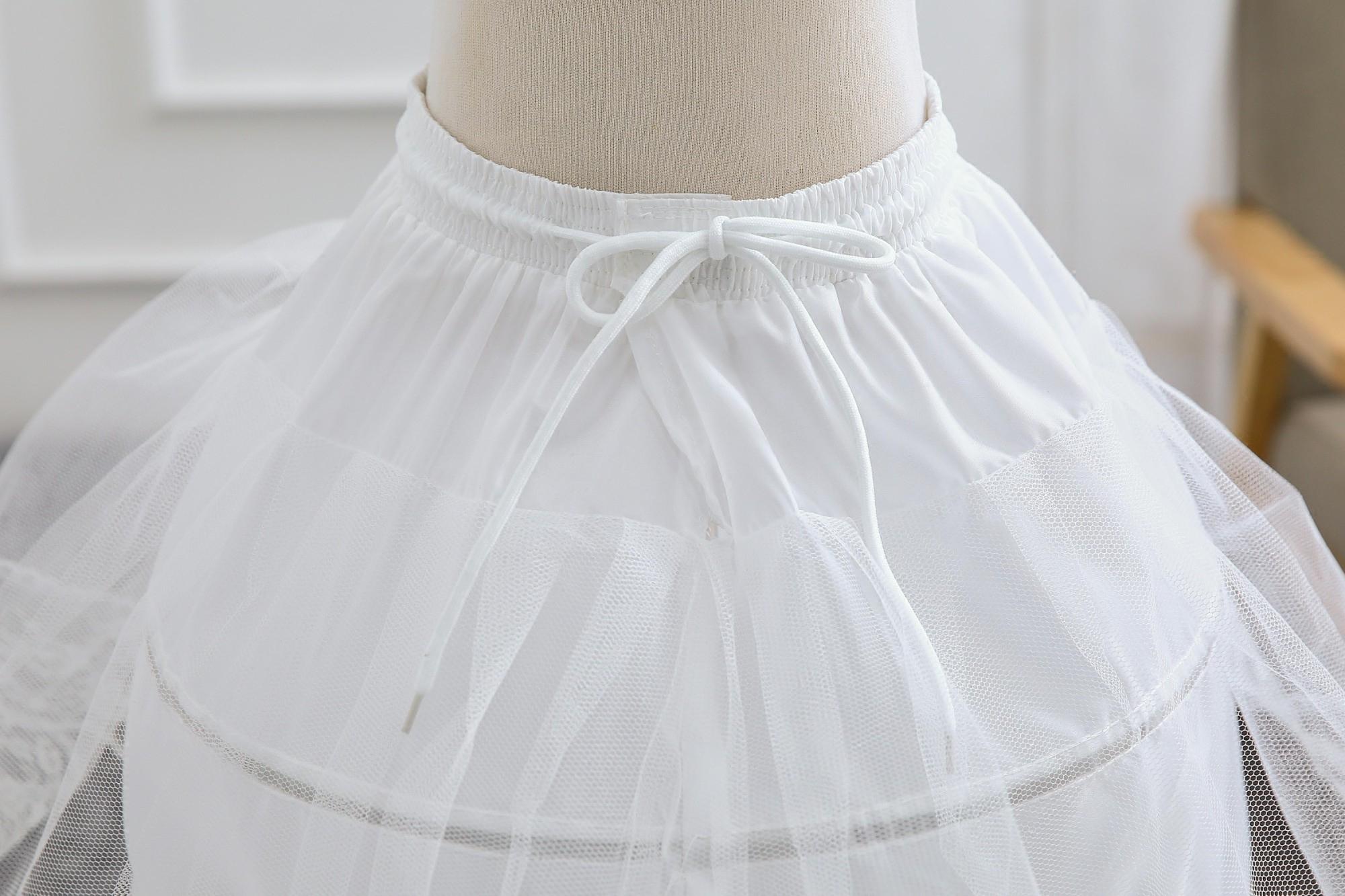 lolita 可调节暴力卡门衬裙软妹半身cosplay日常鱼骨裙撑洛丽塔