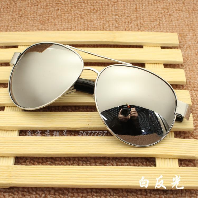 男士太阳镜彩膜 七彩反光墨镜女 时尚潮人蛤蟆镜宽边太阳眼镜包邮