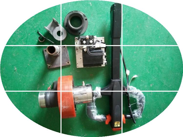 Electric forklift drive wheel assembly / travel motor / control handle accelerator / brake accelerator kad