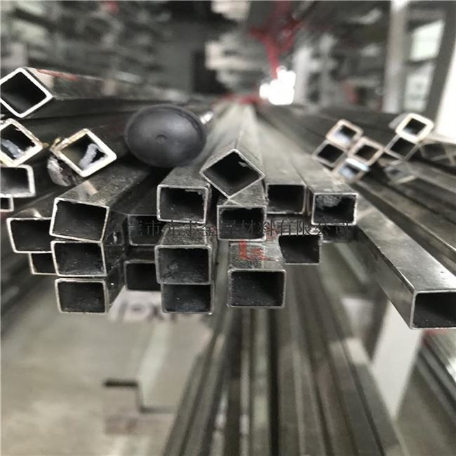 Solid stainless steel 316 small square flat hollow steel tube 223 * 34 * 45 * 56 * 67 * 7