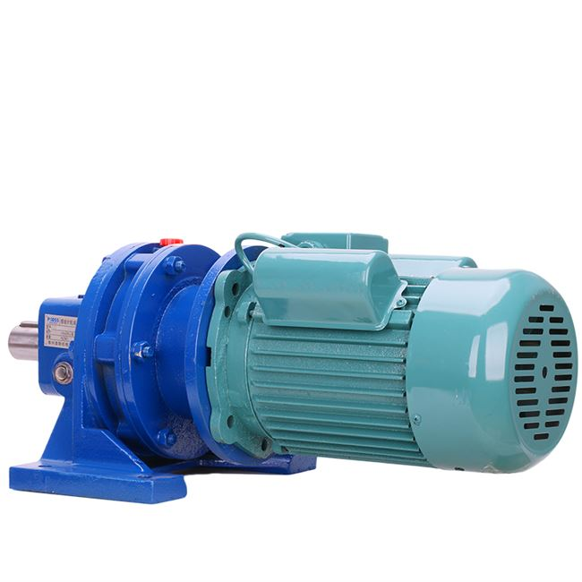 Household 220vbwd Cycloidal Pinwheel Reducer Single Phase Planetary Speed ​​Reducer Mixer Copper Core GB Motor