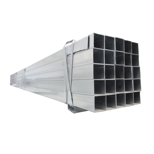 Rectangular Pipe galvanized with zinc square tube tray chassis thin-walled square pipes 100 * 50 * 30 * 15 tube furniture 0.9