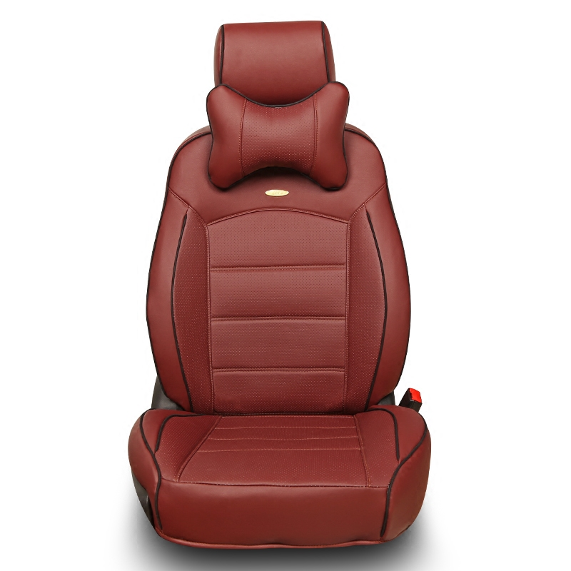 大红色汽车座套专用14款丰田新威驰卡罗拉花冠汽车座套全包坐垫皮