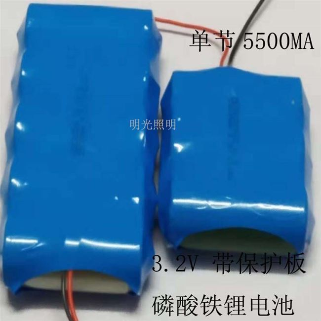 Large-capacity lithium battery 3.2v lithium iron phosphate solar cell lights cast light 10a20ah