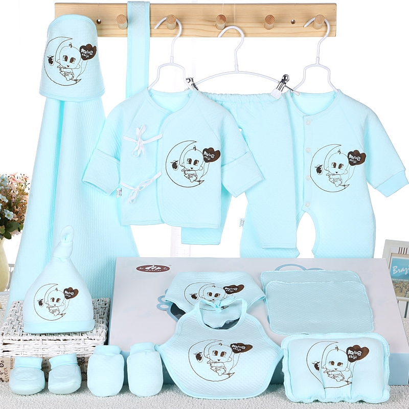 b22d5b2ba1c7 Buy Autumn cotton baby clothes newborn gift sets fall and winter ...