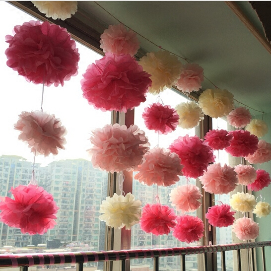 Buy Living Room Marriage Room Layout Paper Flower Ball Birthday