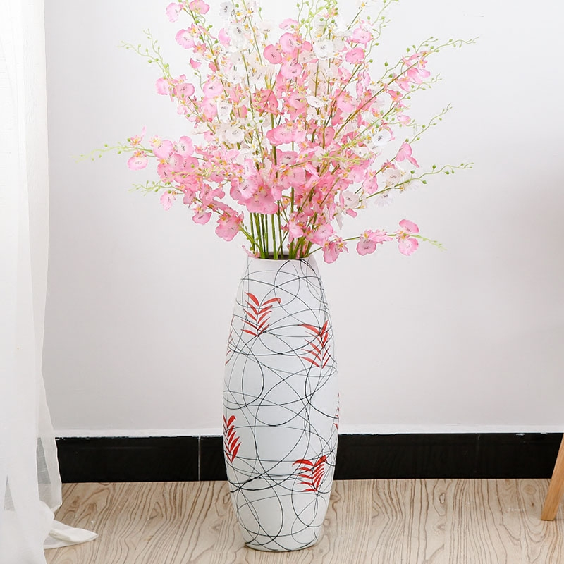 Buy Modern Minimalist Creative Personalized Home Decorative Ceramic Vases Artificial Flowers Suit The Living Room Furnishings Decoration In Cheap Price On M Alibaba Com