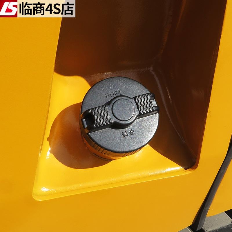 叉车油箱盖适用合力叉车配件柴油箱盖杭叉龙工燃油盖子加油口盖