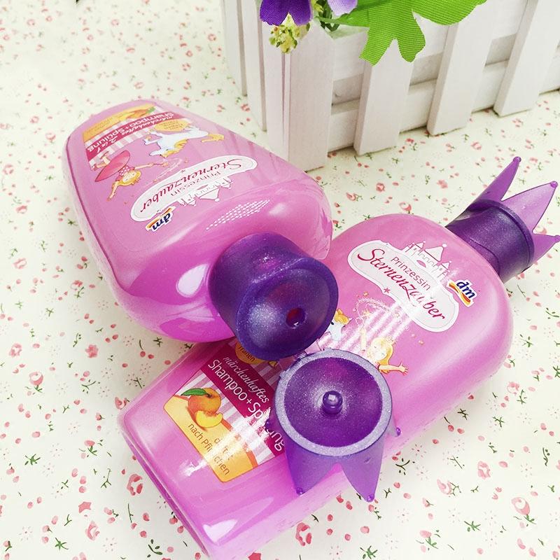 德国dm魔法星宝宝儿童洗发水护发素正品包邮3-15岁天然女孩洗发露