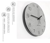 Nordic creative minimalist wall clock living room wall clock modern home European clock personality clock atmosphere C05