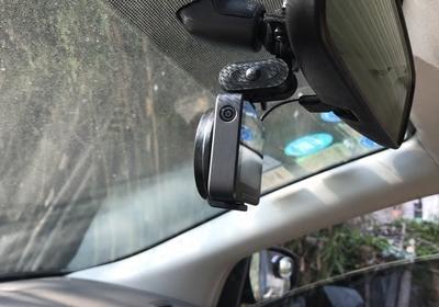 行车记录仪后视镜悬挂支架360凌度任E行小米家非吸盘式通用固定夹
