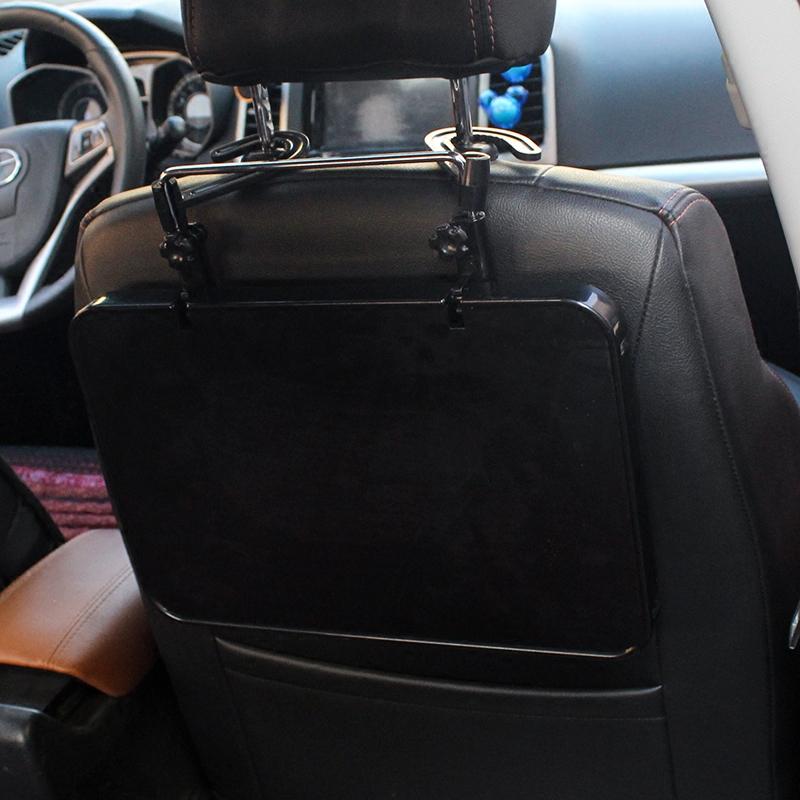 车用可折叠小桌板后座车载平板笔记本支架电脑桌子汽车内餐桌书桌