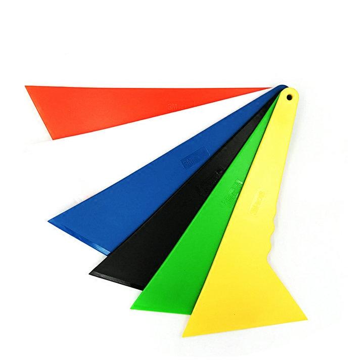 3M汽车贴膜工具黑白黄色特硬三角刮板水刮太阳防爆膜耐磨 KTM包邮