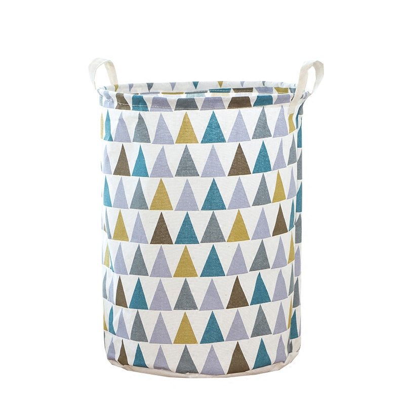 新款大号家用洗衣篓换洗衣服收纳筐子布艺折叠式脏衣篮衣物玩具桶