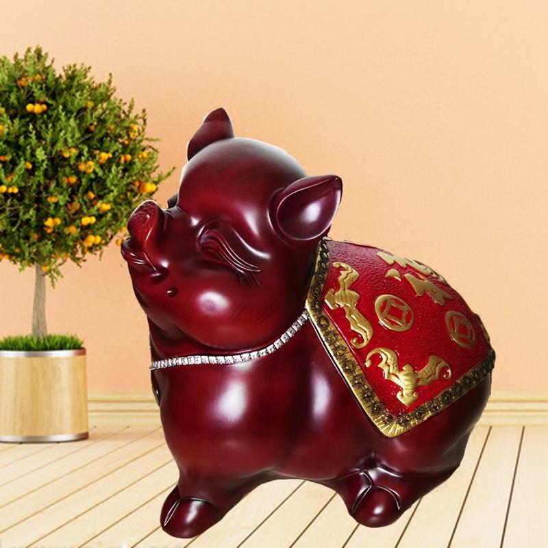 万福猪存钱罐特大号招财储蓄罐创意儿童生日新年开业礼品家居摆件