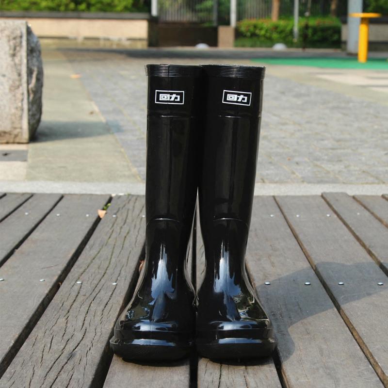 回力加厚雨鞋男士水鞋雨靴防滑防水中高筒胶套鞋劳保厨房工矿鞋