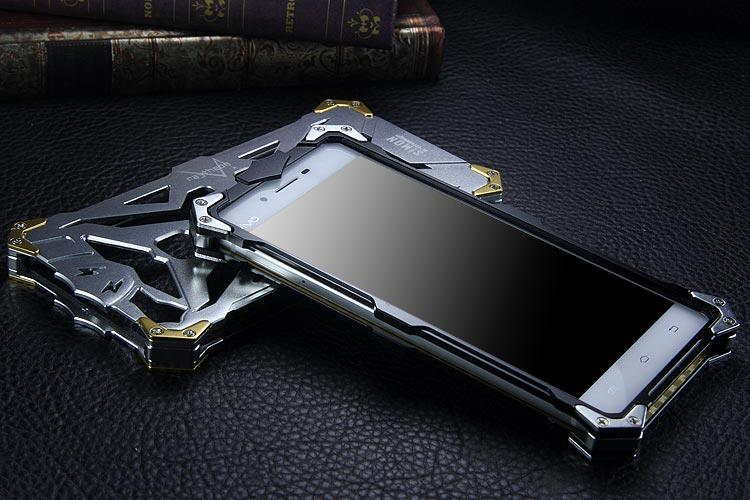 SIMON THOR Aviation Aluminum Alloy Shockproof Armor Metal Case Cover for vivo X6 Plus & vivo X6