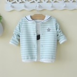 01-3 years old 4 baby children's clothing small girls female baby autumn coat cardigan children spring and autumn foreign tide clothes 2