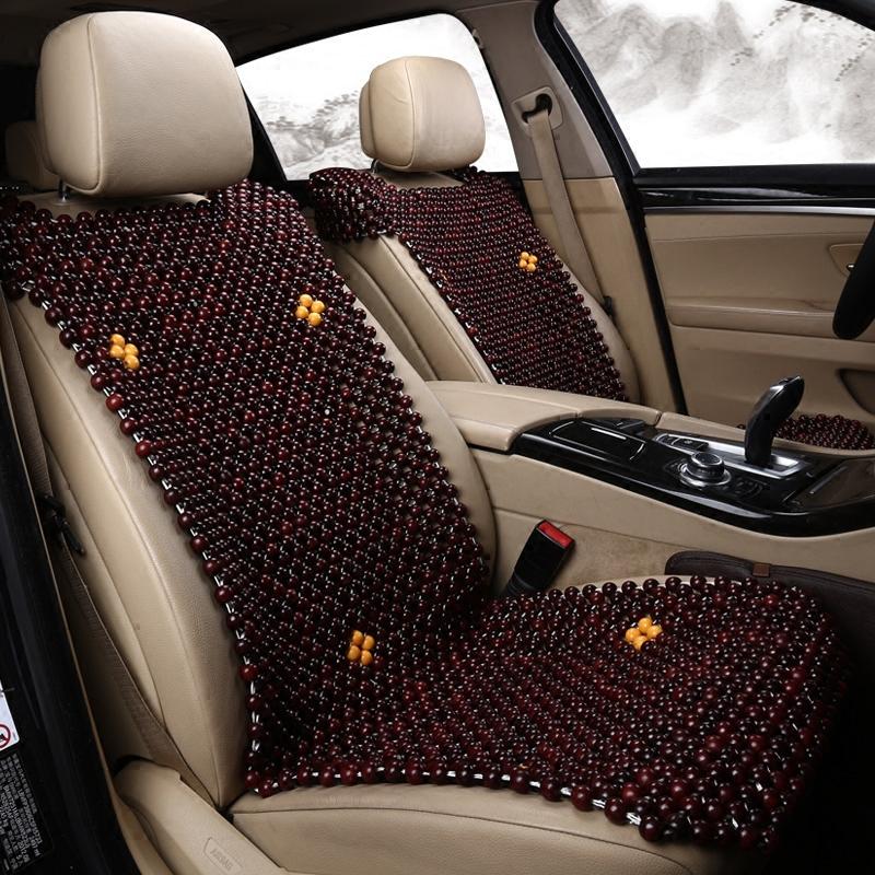 木珠车垫夏季单片汽车坐垫 透气珠子座位套 夏天座垫凉垫车用垫子