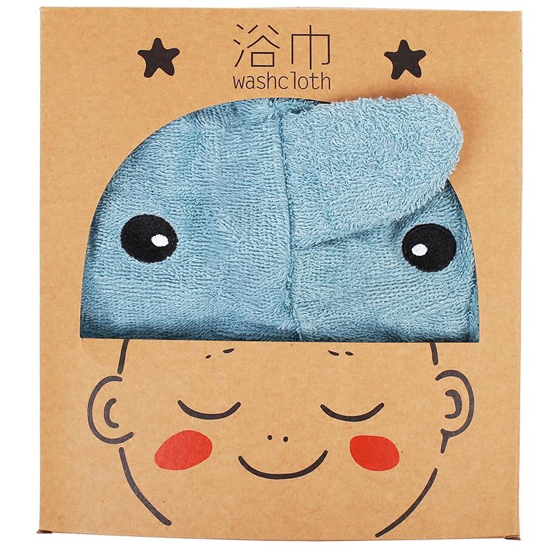 新生儿宝宝儿童可爱动物原创造型吸水浴袍浴巾家居服披风婴儿礼品