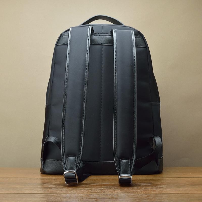 欧美旅行防水 经典时尚账动电脑背包 进口尼龙配真皮双肩包 fima