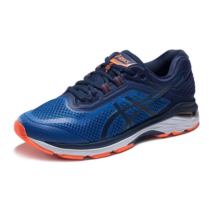 ASICS亚瑟士稳定跑步鞋男鞋GT-2000 6 (2E)运动鞋 T806N-4549
