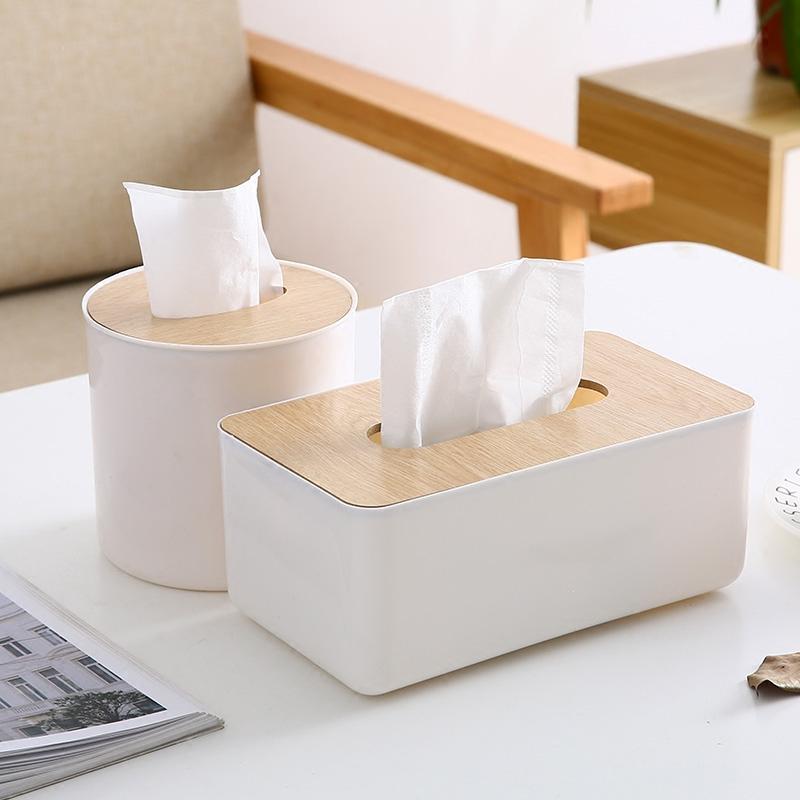 紙巾盒抽紙盒家用客廳創意可愛多功能遙控器餐茶几收納盒捲紙抽盒