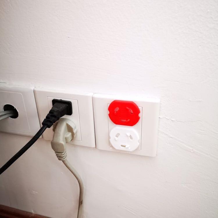 宜家代购国内帕特鲁安全插座保护宝宝防触电插座护盖插头