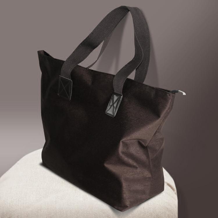 泊象新款购物袋外出旅游手拎袋大号环保布袋便携单肩手提