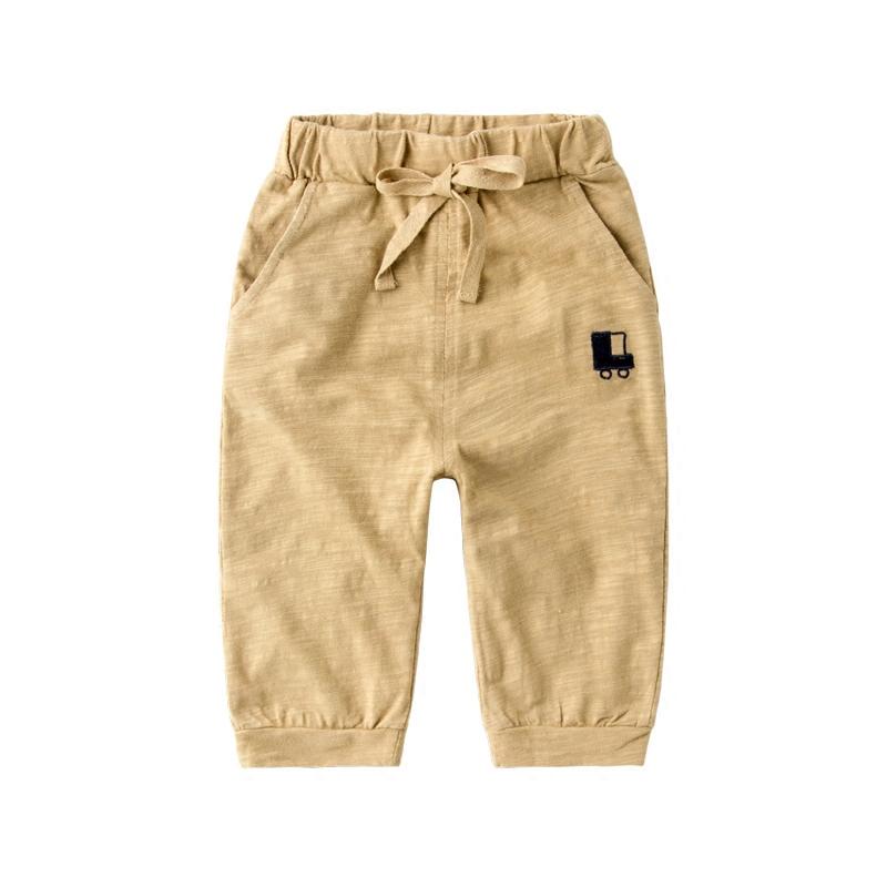 男童裤子五分裤夏装新款宝宝儿童七分裤夏薄款纯棉小童运动裤童装