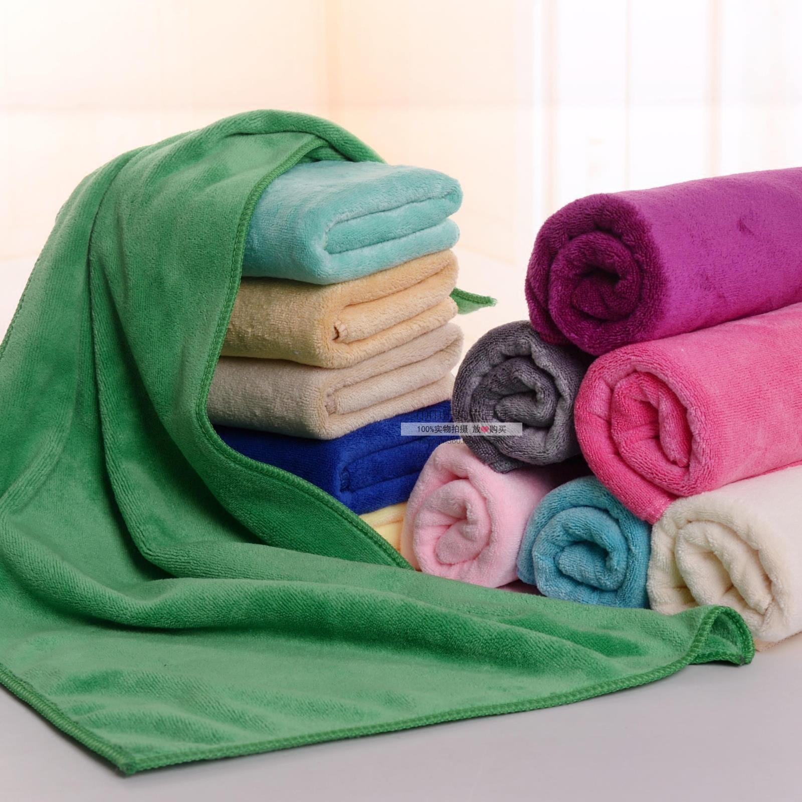 家政保洁专用毛巾批發美容院毛巾理发店吸水干发巾家用抹布定制甩