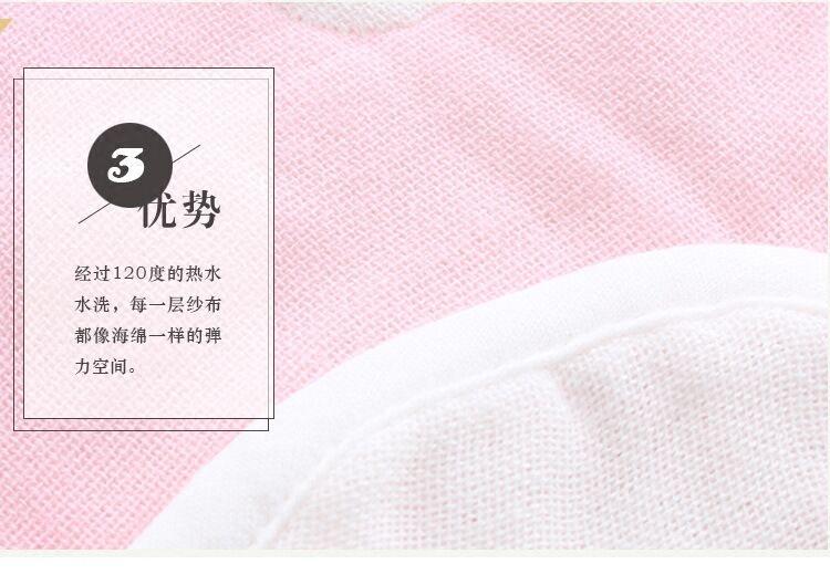 360度旋转围嘴6层纱布花瓣纯棉吸水婴幼儿童宝宝吃饭兜围兜口水巾