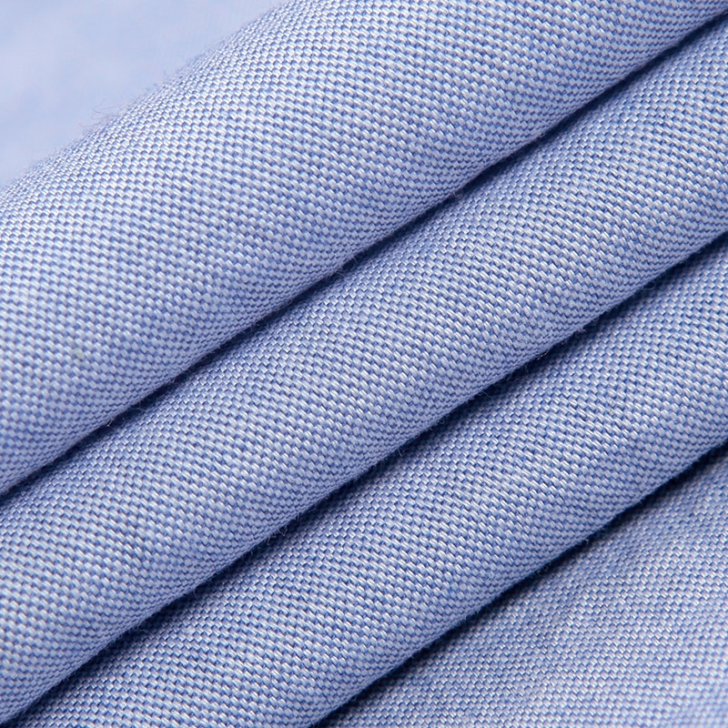 夏季纯棉免烫牛津纺白衬衣纯色韩版修身寸衫男士短袖衬衫大码男装