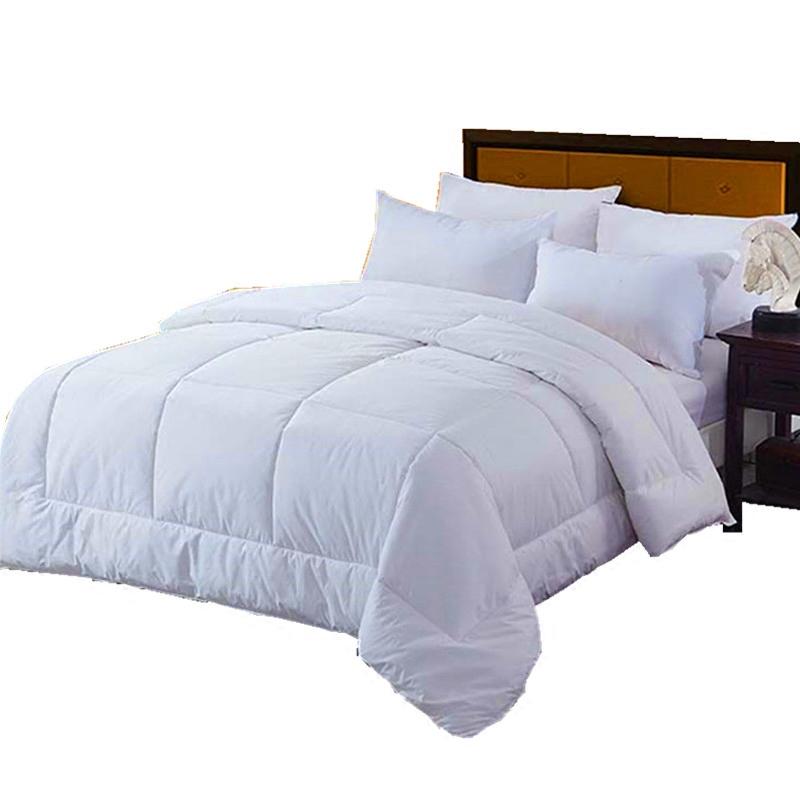 宾馆酒店专用白色春秋被冬被四季被芯被子空调夏凉薄被羽丝棉被褥