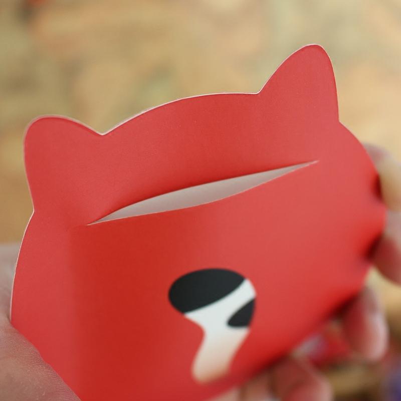 创意可爱卡通个性红包袋小号儿童生日派对满月利是封抖音硬质红包