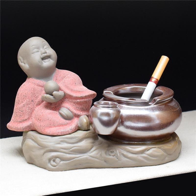 【天天特价】烟灰缸创意复古多功能烟灰缸创意可爱潮流陶瓷烟缸