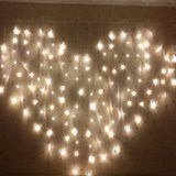 Valentine's Day lantern flashing string lights star lights room love decoration hanging lamp proposal layout creative supplies confession
