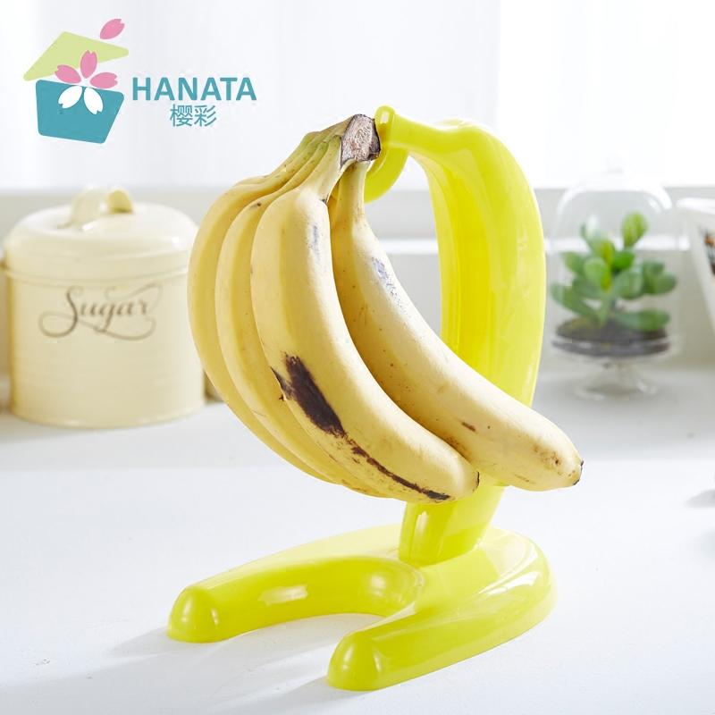 韓日創意香蕉掛展示架子整理架葡萄掛水果懸掛收納置物架裝飾掛架