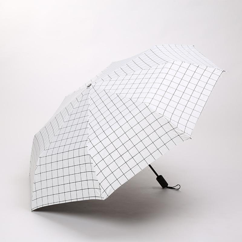 黑胶晴雨伞女 ins 太阳伞防晒防紫外线韩国小清新简约两用遮阳伞