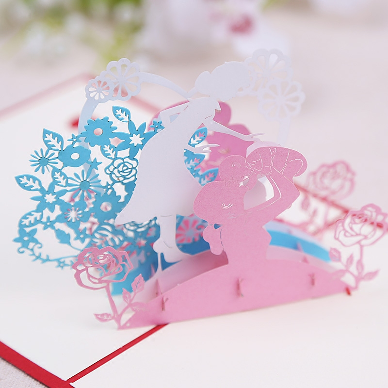 Buy commodities ni korea creative stereoscopic 3d greeting cards buy commodities ni korea creative stereoscopic 3d greeting cards birthday greeting cards handmade paper art paper cutting card lovely mother39s day gift m4hsunfo