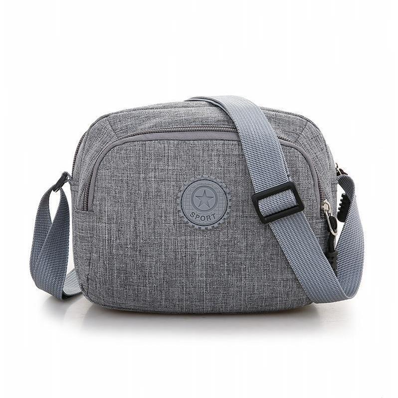新款女包包休闲尼龙帆布包中老年斜挎百搭单肩妈妈布包
