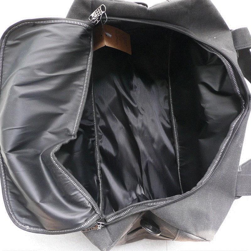 游包女途旅提大容量旅行包男超大族行短行李袋防水帆布单肩手耐磨